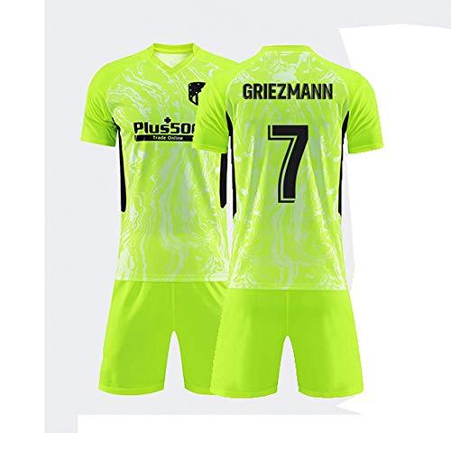 JYF Camiseta Futbol Camiseta De Fútbol # 7 Antoine Griezmann Camiseta De Hombre Transpirable Regalos para Amigos Y Familiares (Color : B, Size : Small)
