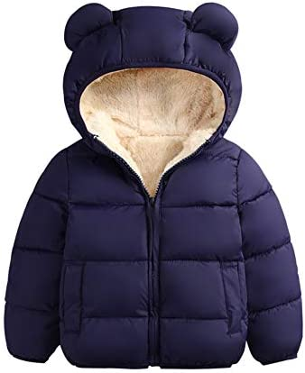 Winter Coats for Toddler Kids Baby Boys Girls Padded Light Puffer Jacket Outerwear Infant Winter product image