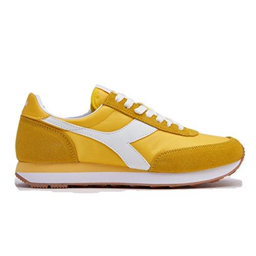Diadora, Koala, Scarpe Donna, Sneaker Casual (Giallo, Numeric_37)
