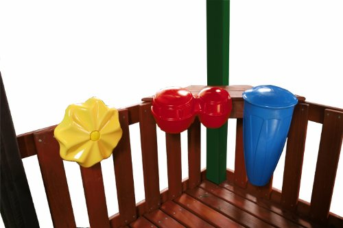 Swing-N-Slide NE 4895 Outdoor Rhythm Band Swing Set Music Play Kit (Pack of 3), Multi-Colored