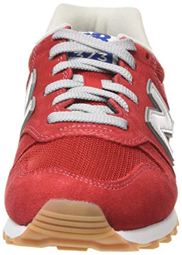 New Balance 373v2, Zapatillas Hombre, Rojo (Red/White De2), 44 EU