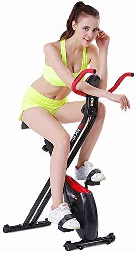 HYM Dinámica de Bicicletas Deportes Fijo Plegable magnética Cubierta de Bicicleta de Ejercicios Velocidad Vertical de la Bicicleta Inteligente Silencio Fijo Motion Ejercicio aeróbico