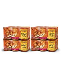 Mixed canned selection of flavours in jelly including; Beef, Chicken and Game (10.96kg - 24 cans) Grain and Gluten free with Vitamin D and minerals for healthy teeth and bones Made with natural ingredients - No artificial flavours, colours or preserv...