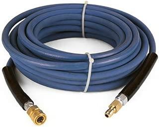 Raptor Blast 6000 PSI BLUE 2 Wire Braid NON Marking Pressure Washer Hose 100' w/ Couplers