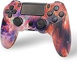 Nuiik-C22x Controlador inalámbrico PS4, Controlador de Juegos para Playstation 4 con vibración Dual y Cable de Carga/Compatible con PS4 / PS4 Pro / PS4 Slim (Color : 3L)