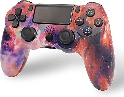 Nuiik-C22x Controlador inalámbrico PS4, Controlador de Juegos para Playstation 4 con vibración Dual y Cable de...