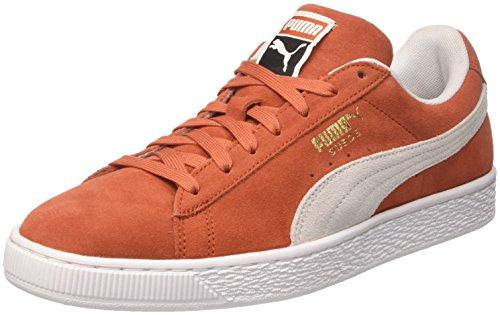 PUMA Suede Classic, Sneaker Basse Unisex-Adulto, Marrone (Burnt Ochre White), 45 EU