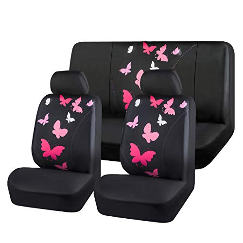 CAR-PASS-Universal Butterfly Car Seat Covers