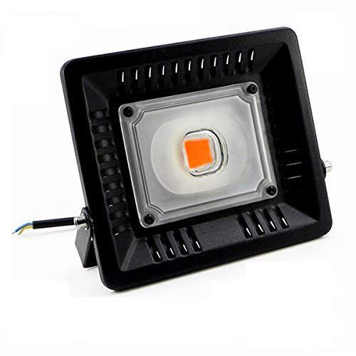 植物育成LEDライト 植物ライト 50W タイマー付き LEDランプ 360度調節可能 電源アダプター 水耕栽培ランプ 室内栽培ランプ 多肉植物 ガーデン温室