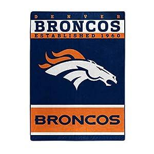 50 The Northwest Company Officially Licensed NFL Denver Broncos 12th Man  Plush Raschel Throw Blanket c7a0f8cc1