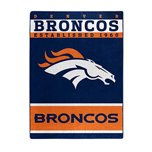 "NFL Denver Broncos ""12th Man"" Raschel Throw Blanket, 60"" x 80"""