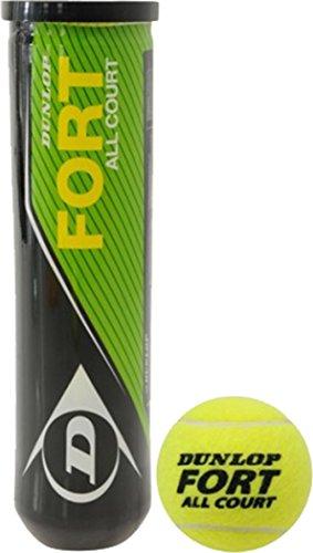 Dunlop Sports Professionals Fort Duck All Court Tennis Balls (4 Balls Tin) by Dunlop