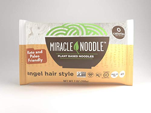 Miracle Noodle Pasta, Angel Hair, 7 Ounce (Pack of 1)