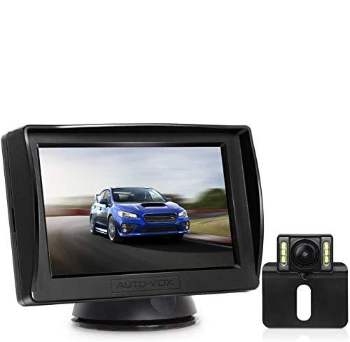 AUTO-VOX Cámara de marcha atrás M1PRO HD cámara de copia de seguridad...