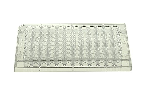 Nest 515201 96 Well Elisa Plate, Undetachable, High Binding, Clear, Non-Sterile, 5/pk, 50/cs