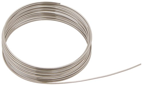 Price comparison product image Beadalon 180S-018 18-Gauge Stainless Steel Round Bright Wire for Jewelry Making,  3.5m