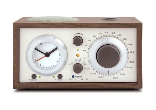 Tivoli Model Three Bluetooth UKW-/MW-Radiowecker in Walnuss/Beige