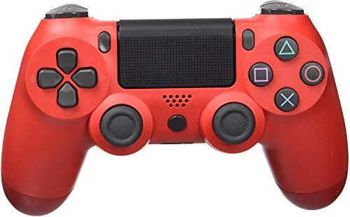 PS4-Controller, Gamepad-Joystick für Playstation 4 / Pro/Slim/PC, Touchpanel-Controller mit sechsachsiger Doppelvibration und Audio-Buchse
