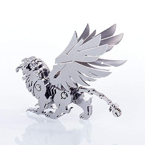 Kepae Puzzle 3D Griffin, Costruzione Animale Modello 3D in Metal, Puzzle 3D Metal Modellismo Giochi di Costruzione Kit Modello 3D