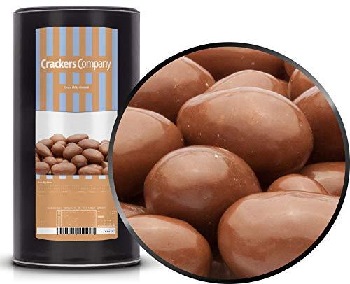 1 x 900g Mandeln in Vollmilchschokolade röstfrische Kakao Mandeln in Milchschokolade vegetarisch glutenfrei
