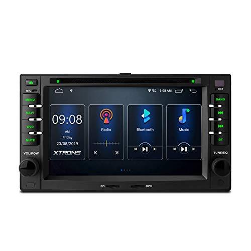 6.2 pulgadas Doble Din Android 10.0 Estéreo para automóvil Radio automática Navegación GPS DSP integrado Admite RCA completo CarAutoPlay BT5.0 1080P DVR DAB + OBD para Kia Sportage / Cerato / Optima