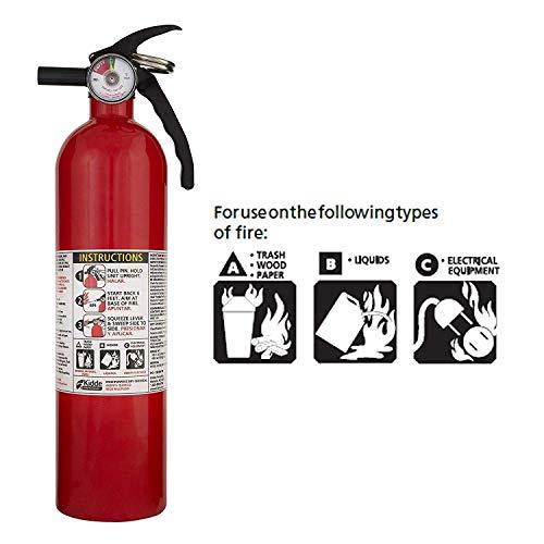 Kidde FA110 Multi Purpose Fire Extinguisher 1A10BC, 2 Pack
