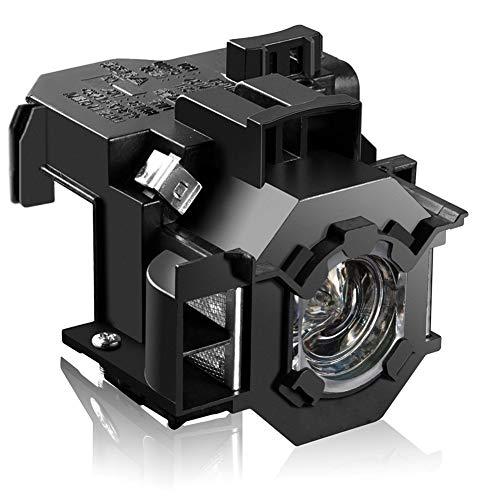 Loutoc V13H010L41 Lámpara Proyector para Epson ELPLP41 PowerLite Home Cinema 77c S5 78 S6 S6 + EX21 EX30 EX50 EX70 H283A H284A