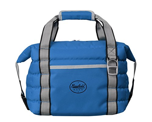 Soft Sided Insulated Collapsible Cooler Bag - Holds 16 Cans - Tote for Beach, Car, Picnics - Heavy-Duty Material, Leak Proof Lining & Insulation