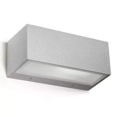LEDs-C4 05-9649-34 T2-Applique 60w nemesis 1xe27 max gris