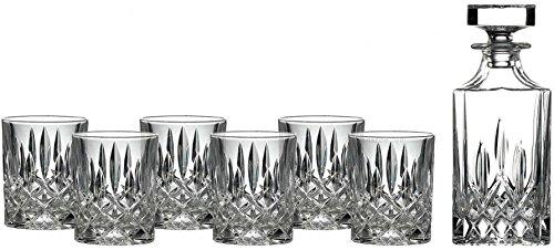 RCR CAL259 Opera - Juego de whisky (7 piezas, 732380, cristal)
