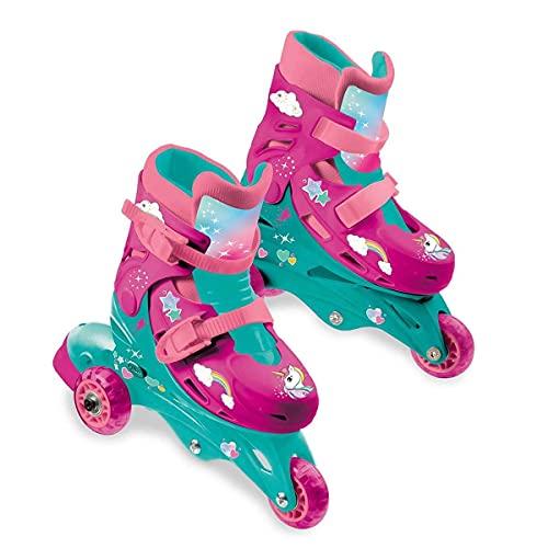 Mondo In Line Skates Unicornio Unicorn Patines Patinaje Unisex Infantil, Color (Multicolor), única (28513)