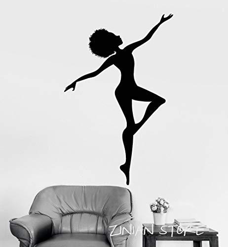 yaonuli Ballerina muurstickers home decor woonkamer slaapkamer meisje dansen studio kamer decor muurschildering verwijderbare slaapkamer