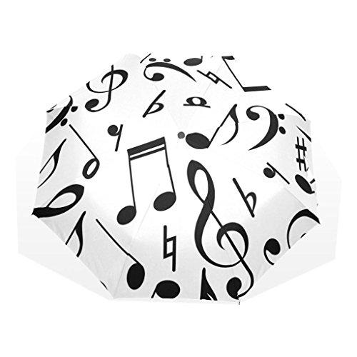 Enne paraguas Nota Musical paraguas plegable paraguas lluvia paraguas de viaje compacto...