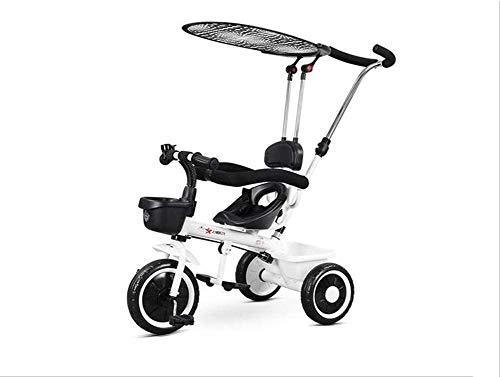 JINHH driewieler, kinderwagen Versatile 1-5 jaar oud ChildrenChild wagfiets familie draagbaar 57x50x100cm