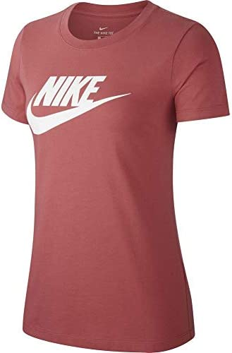 Nike Camiseta Sportswear Icon Futura Rosa de Manga Corta para Mujer