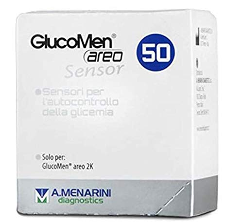 GLUCOMEN AREO SENSOR 50 TIRAS