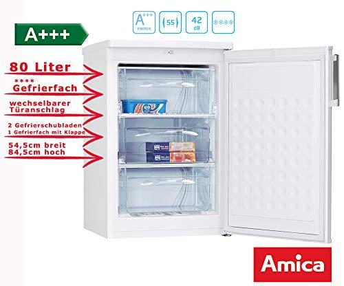 Amica GS 15454 W Gefriergerät / 80 liters