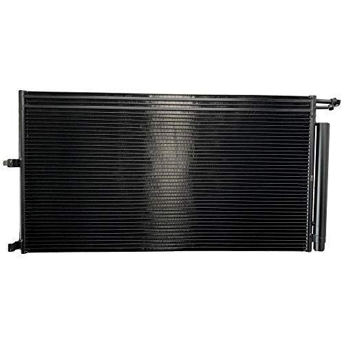 BOXI A/C AC Condenser with Oil Cooler & Receiver Drier For Ford Expedition 2007-2014 / F-150 2009-2014 / Lincoln Mark LT 2010-2014 / Lincoln Navigator 2007-2014 AL1Z19712A 7L1Z19712A 3618