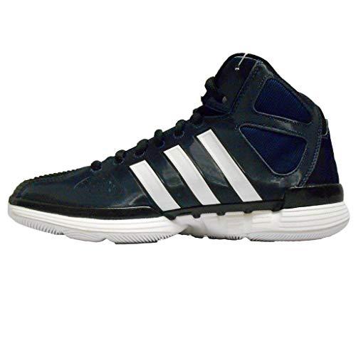adidas Women's Pro Model Zero W Basketball Shoe (6, Indigo/White/Black)