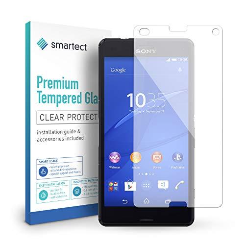 smartect Cristal Templado para Móvil Sony Xperia Z3 Compact - Protector de...