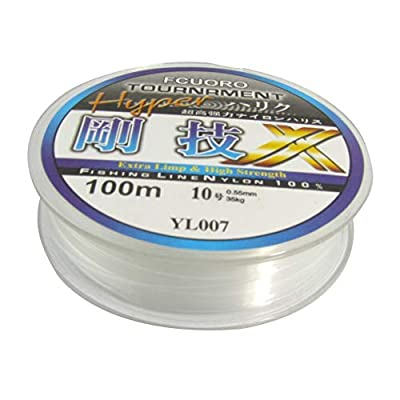 Wilk 0.55mm 100M transparent fishing line 10