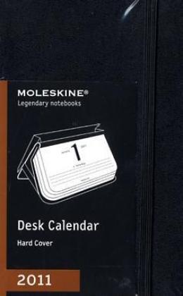 Moleskine 2011 12 Month Desk Calendar: Black Hard Cover Pocket (Moleskine Diaries)