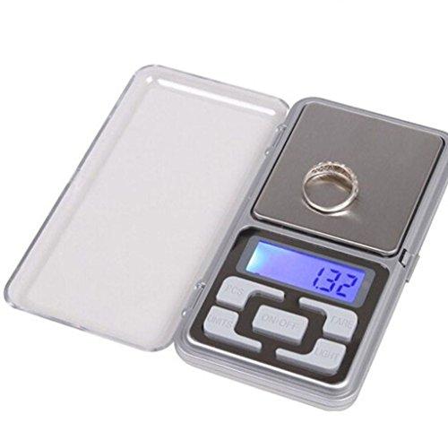 HARRYSTORE Digital Scale, Mini 0.01g Schmuck Balance Gewicht Gram LCD Bildschirm Elektronische Waage (100g)