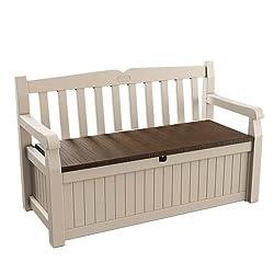Keter Eden花亚博登入园存储长凳