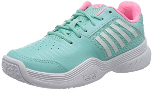 Dunlop Herren KS TFW COURT EXPRESS OMNI-BLUE/PINK/WHITE-M Sneaker,32 EU