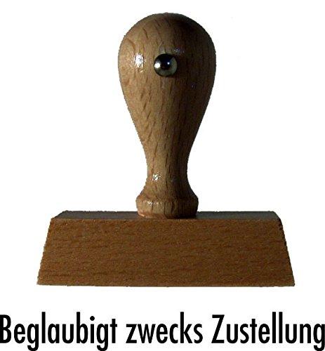 Magazijnstempel/houten stempel goedgekeurd voor de levering van Kaufhaus2010