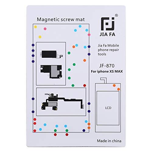 SPAREPARTS - Recambios para teléfono JF-870 Pad magnético consejo tornillos para iPhone XS Max