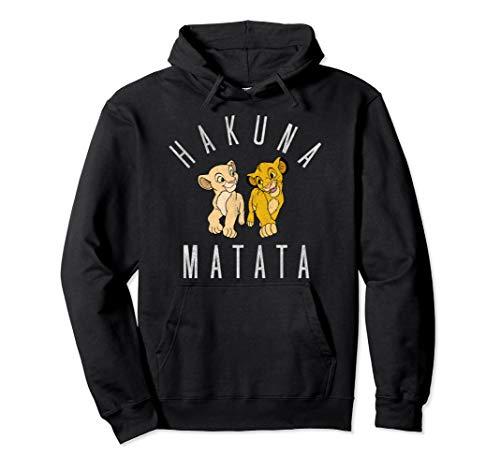 Disney The Lion King Nala And Simba Hakuna Matata Portrait Pullover Hoodie