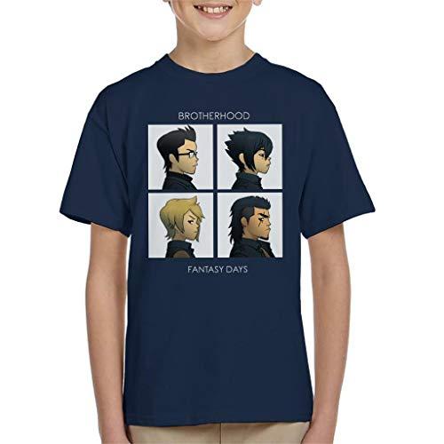 Final Fantasy Brotherhood Days Kid's T-Shirt