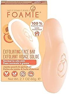 Exfoliërende Face Bar, Jojoba Wax en abrikozenolie, plastic vrij, veganistisch, gemaakt in het Verenigd Koninkrijk, Jojoba...